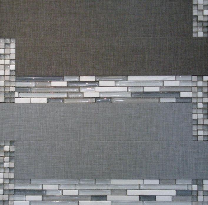 Fibra Grey & Smoke w/ GL01 & Westwood Tempest Mosaic