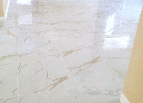 Gemstone White Calacatta Oro 24x24 Porcelain - Copy