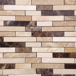 Mosaic Natural Stone 12x12 Marble Strips