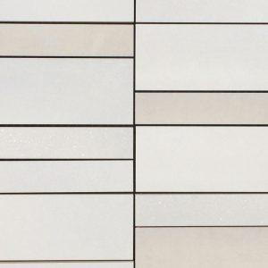 Mosaic Porcelain 12x12 Intuition White