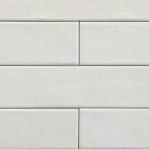 Mosaic Porcelain 3x12 Monocroma White