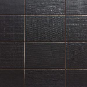 Mosaic Porcelain 4.5x7 Kiko Black
