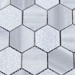Arctic Bay Mosaic Hex Tile