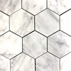 Luna Mosaic Hex Tile