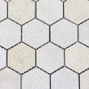 Sonoran Sand Mosaic Hex Tile