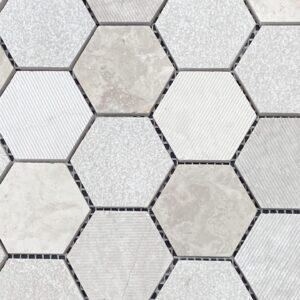 Volos Gris Mosaic Tile