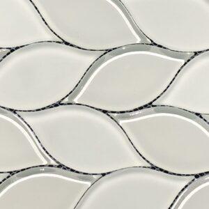 Imagery Almond Leaf Mosaic Tile