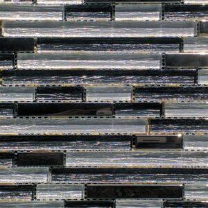 Elements Honeycomb Mosaic Glass Tile
