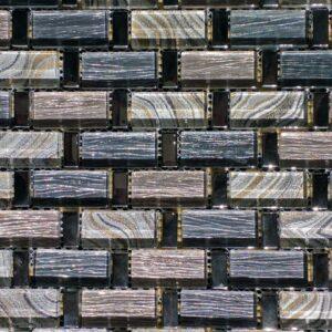 Reflections Charm Mosaic Glass Tile