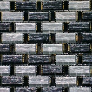 Reflections Silver Mosaic Glass Tile