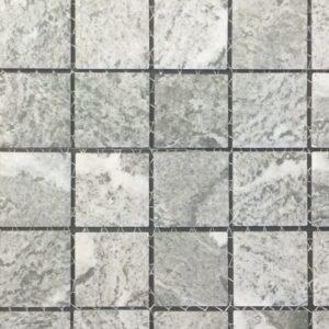 Cotto Alpine Gray Mosaic Porcelain Tile