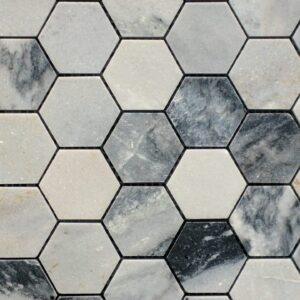 Arctic Grey Mosaic Porcelain Tile
