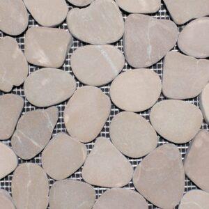 Pebble Tan Mosaic Porcelain Tile