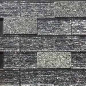 Oceans Brick Black Pearl Tile