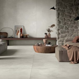 Mirage Clay Tile in a Living Room