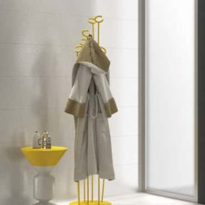 Designer bathroom with Azteca Benetton Series tile