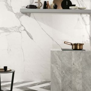 Contemporary kitchen with Italgraniti Group Marble Experience tile